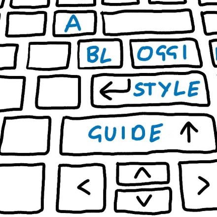 A blogging style guide