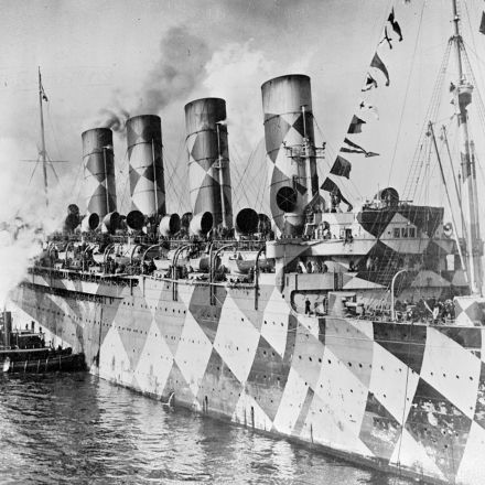 How Cubism Protected Warships in World War I