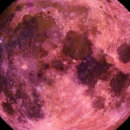 Full Moon in April 2018 is a Pink Moon
