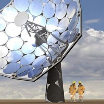 Solar energy: a sunflower solution to electricity shortage