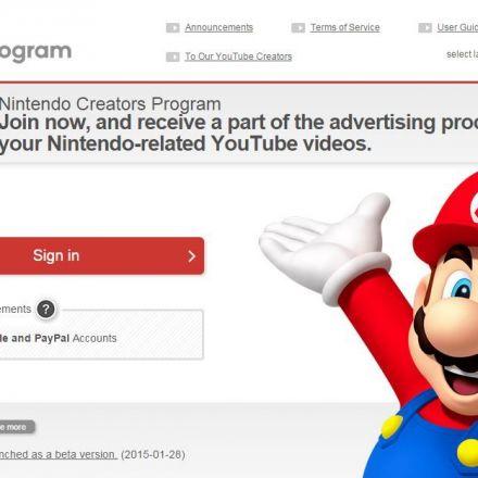Nintendo launches YouTube Affiliate Program to give creators 60-70% of ad revenue