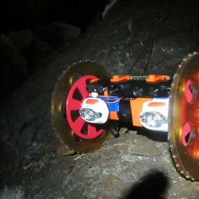 Robot explores volcanic depths where humans dare not go