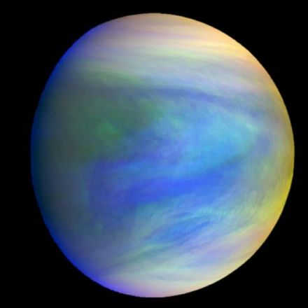 Mysterious dark patches in Venus' clouds are affecting the weather