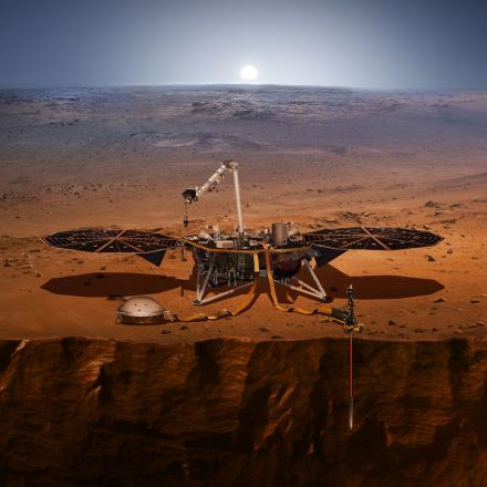 NASA's InSight Lander Captures Audio of First Likely 'Quake' on Mars