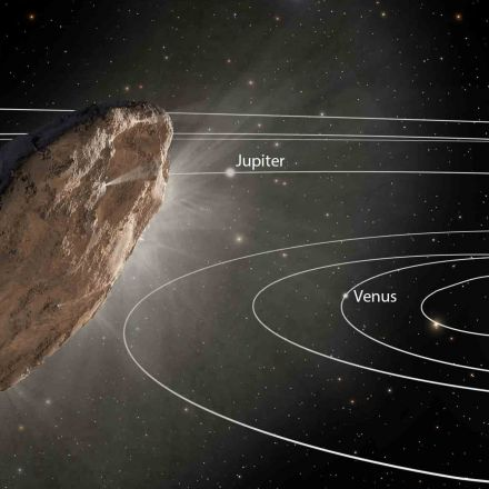 A bizarre interstellar object called 'Oumuamua continues to perplex astronomers a year after it vanished.