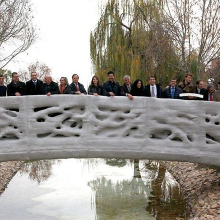 Get Over It: The World's First 3D-Printed Bridge Officially Opened