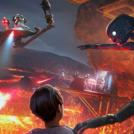 Disney Parks will offer a Virtual Reality Star Wars land this year