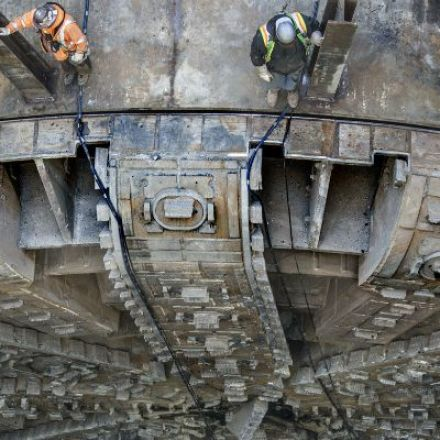 Bertha's Two-Mile Subterranean Journey Is Almost Over