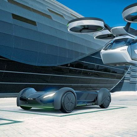 Airbus' new flying car concept looks like it's straight out of 'The Jetsons'