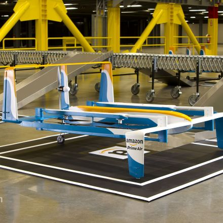 Amazon Shows Off New Delivery Drones With 'Top Gear's' Clarkson