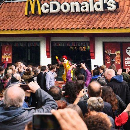 Nation Rallies Around Ronald McDonald Statue That Embodies Country's True Heritage
