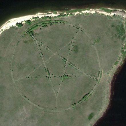 25 Strangest Sights on Google Earth