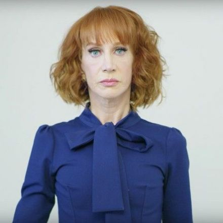 Kathy Griffin 'cuts off Trump's HEAD' in outrageous stunt