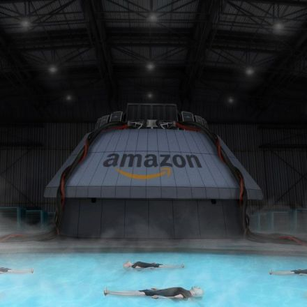Amazon Completes New Suspension Tank To House Psychic Beings Who Foresee Customers' Future Orders
