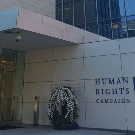 Head of Human Rights Campaign Foundation resigns after using racial slur -