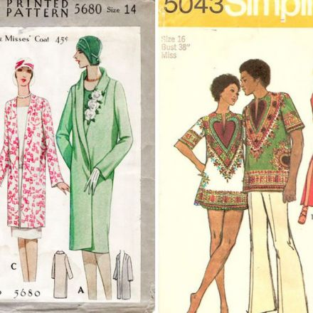 Over 83,500 vintage sewing patterns are now available online.