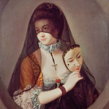 That time the French aristocracy was obsessed with sexy face stickers.