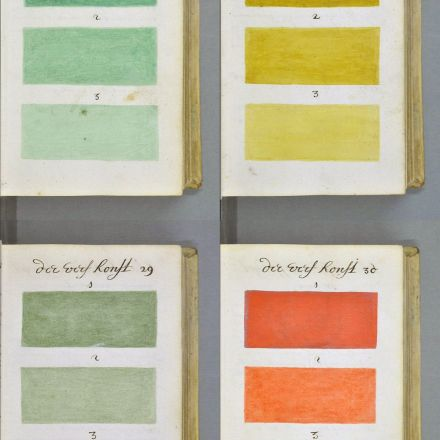 271 years before Pantone, an artist mixed and described every color imaginable in an 800-page book.