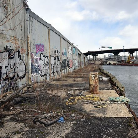 The remains of Brooklyn's disappearing industrial waterfront