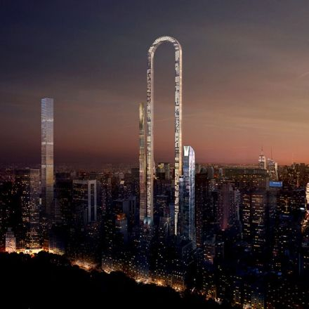 The big bend: U-Shaped 'world's longest skyscraper' is intentionally absurd