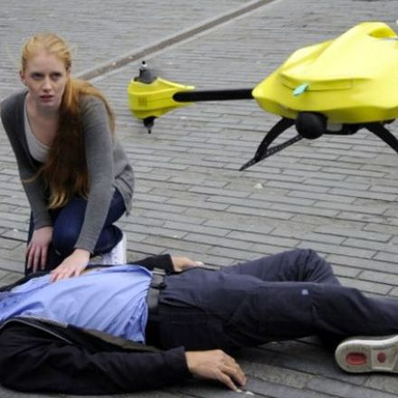 Drones in Sweden carry defibrillators to save cardiac arrest victims.
