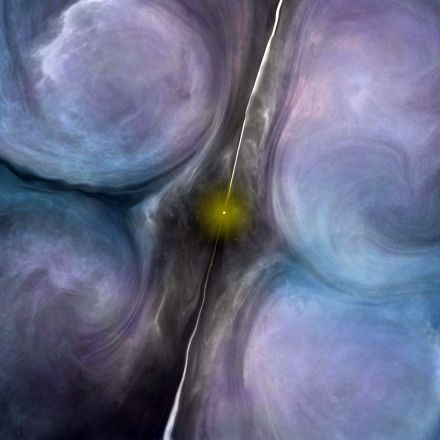 Suffocating Star Formation around a Supermassive Black Hole