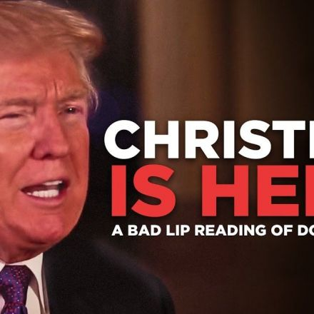 """""""Christmas is here"""" — A Bad Lip Reading of Donald Trump"""