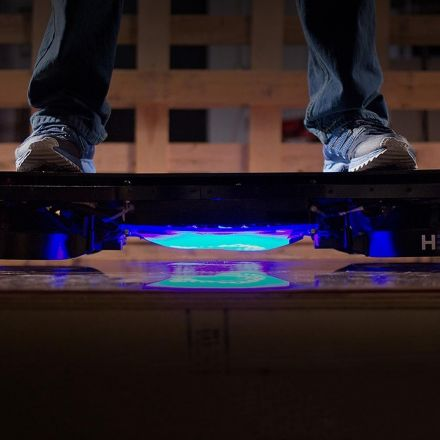 The Physics of the Hendo Hoverboard