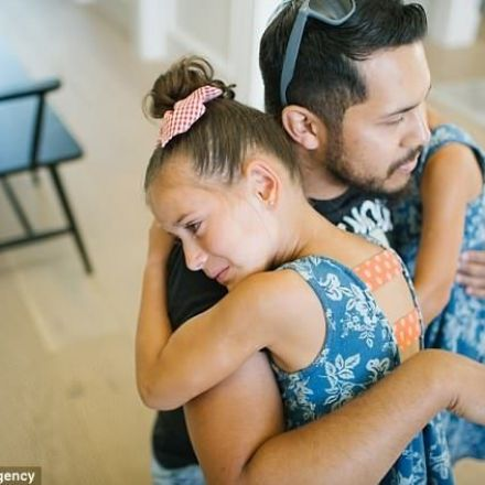 7-Year-Old Breaks Down in Tears as She Meets Bone Marrow Donor Who Saved Her Life