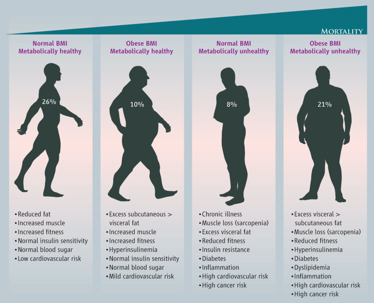 it has been estimated that about 10% of adults in the United States have obese BMI and are metabolically healthy