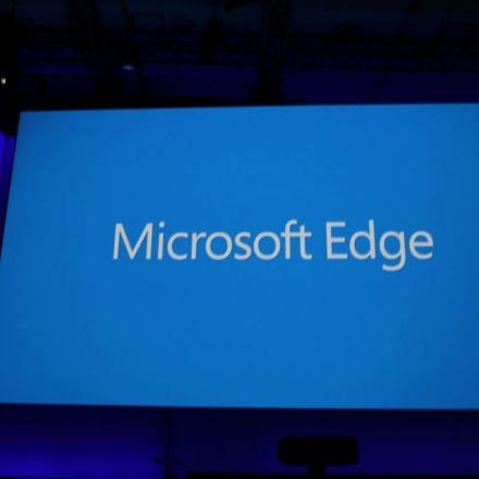 Microsoft's New Browser Will Be Called Microsoft Edge