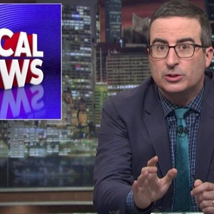 John Oliver Exposes The Right-Wing Media Empire Taking Over Your Local News