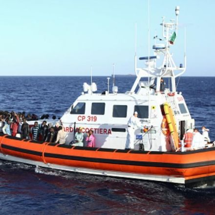 Refugee Rescue Boat Tries to Rescue Stranded Anti-Refugee Activists