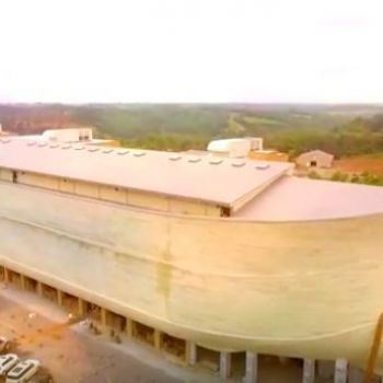 Creationist Noah's Ark Park Hilariously Blames Atheists for Its Declining Profits