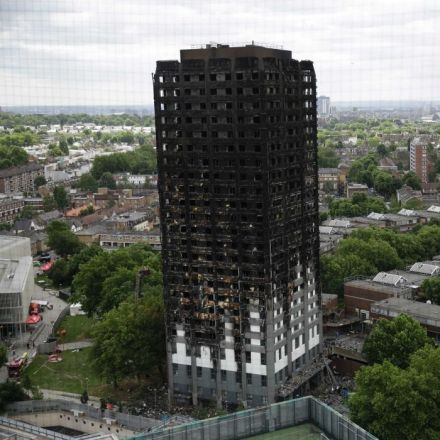 Manufacturer issued warning over panels reportedly used on London tower