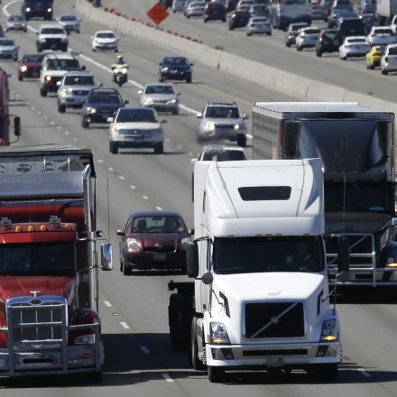 Trump administration eyes truck emissions standards for its next climate rollback