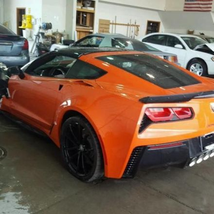 2019 Chevrolet Corvette Grand Sport With Brief, 15-Mile Lifespan