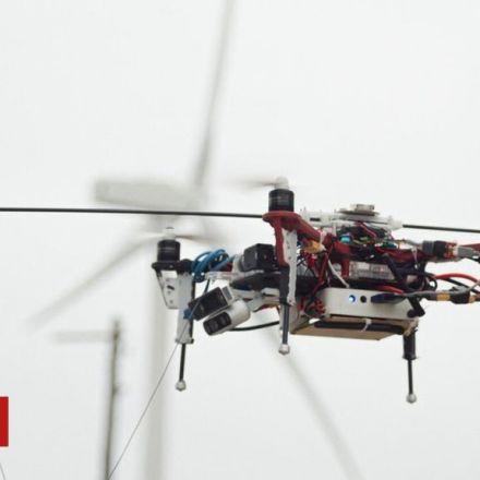 Robotic inspectors developed to fix wind farms