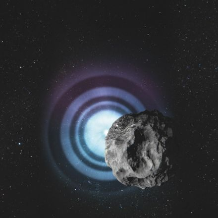 Nearby asteroids reveal sizes of distant stars