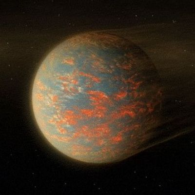 Atmosphere, Not Lava Flows, for Exoplanet 55 Cancri e