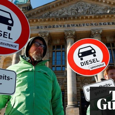 German court rules cities can ban diesel cars to tackle pollution