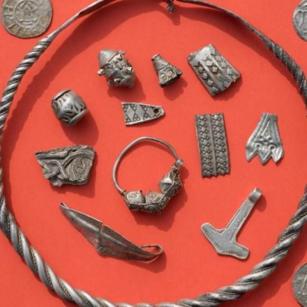 Boy unearths lost treasure of 10th century Danish king