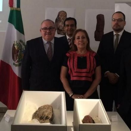 Germany returns 3,000-year-old relics to Mexico