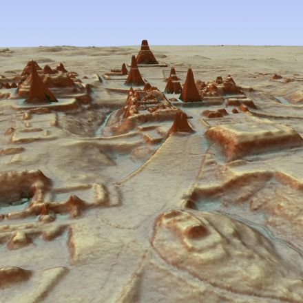 Lost' ancient Mexican city had as many buildings as Manhattan, laser map shows