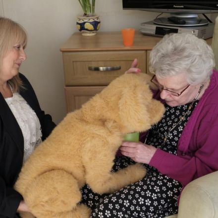 Robot dog lends a helping paw to dementia sufferers