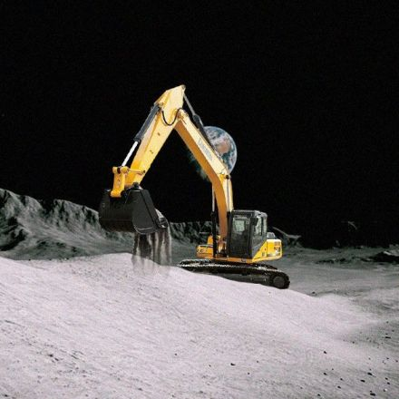 NASA's collaborating with Caterpillar on Moon mining machines