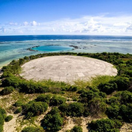 On a remote atoll, a concrete dome holds a toxic timebomb. And it's leaking