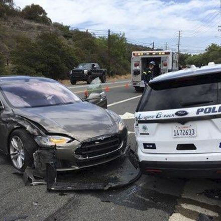 Tesla that crashed into police car was in 'autopilot' mode, California official says