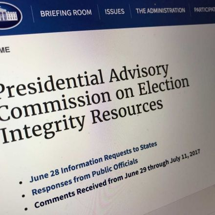 White House releases sensitive personal information of voters worried about their sensitive personal information