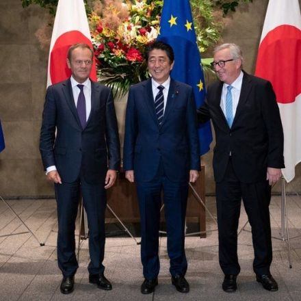 Japan, EU sign trade deal to eliminate nearly all tariffs